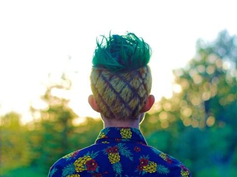 Reddit user loses bet; gets hair cut to look like a pineapple