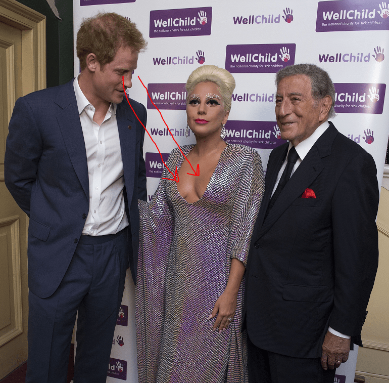 08.06.2015 Prince Harry attends a Well Child Charity Concert at the Royal Albert hall he meet with Lady Gaga and Tony Bennett before the performance ALAN DAVIDSON NMA ROTA FOR THE DAILY MAIL not UK sales for 28 days after creation date