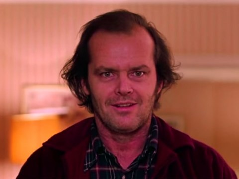 This mash-up of The Grand Budapest Hotel and The Shining – aka The Grand Overlook Hotel – is spot-on