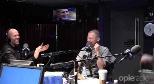 Jason Statham (Picture: Opie Radio/YouTUbe)