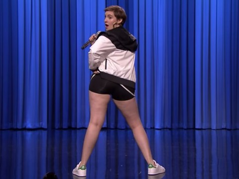 Lena Dunham lip syncing to Queen's 'Fat Bottomed Girls' is all kinds of awesome