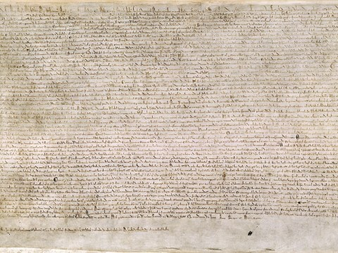 The 800-year-old Magna Carta was 'meaningless', 'illegal' and wasn't even called the Magna Carta