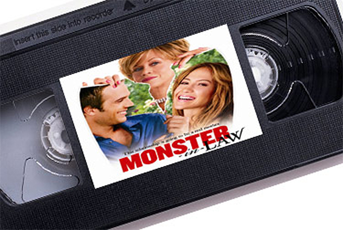 Monster-In-Law  VHS