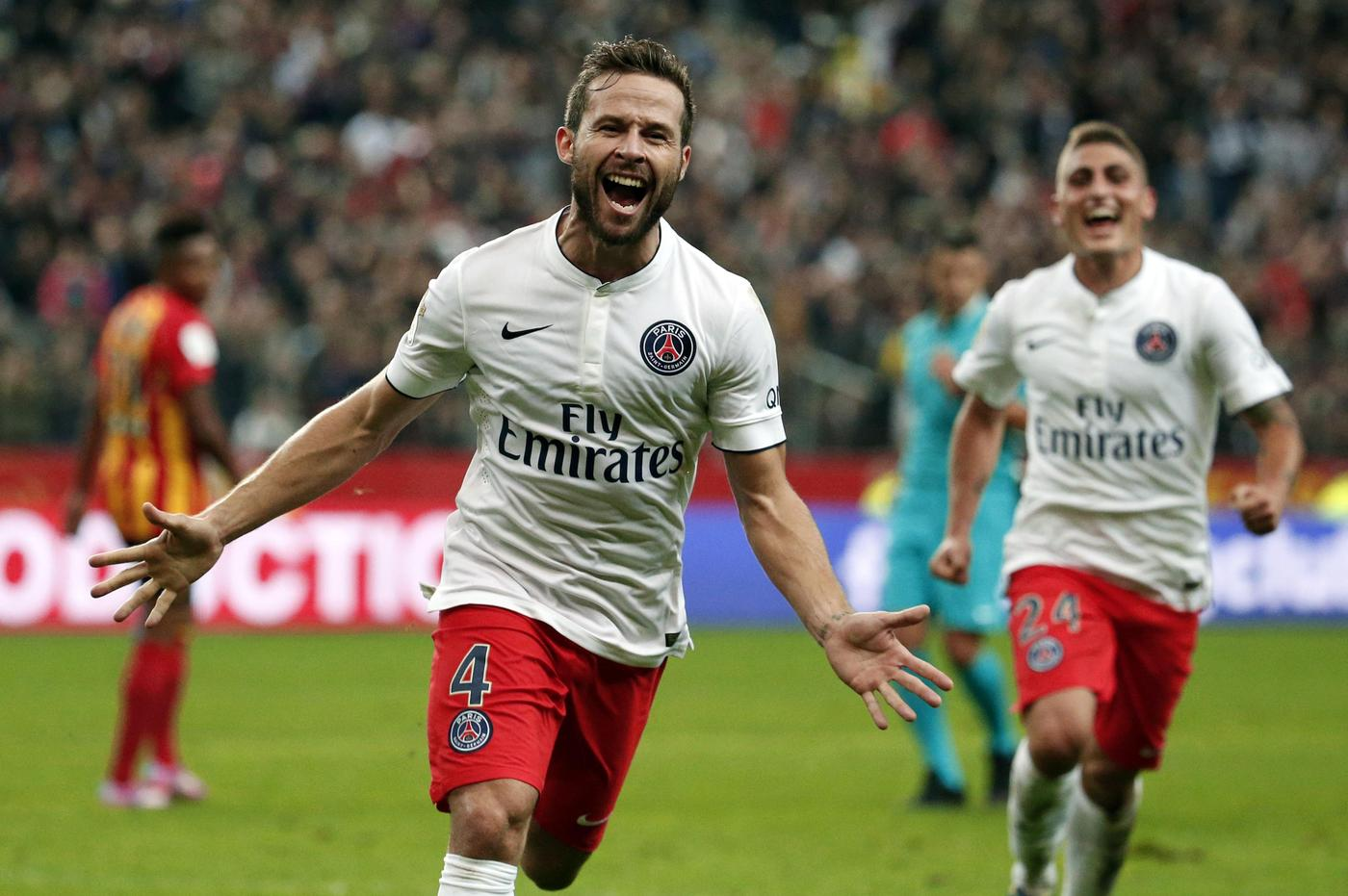 Crystal Palace 'closing in on the £10m signing of PSG midfielder Yohan Cabaye'