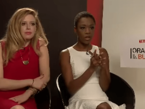 Orange Is The New Black stars effortlessly defeat a reporter's sexist questions