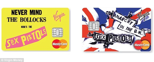 Sex Pistols' album artist 'disgusted' at Virgin credit cards using his work