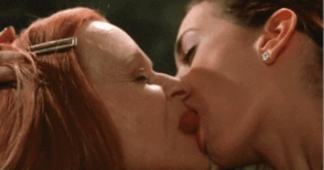 sloppy kiss