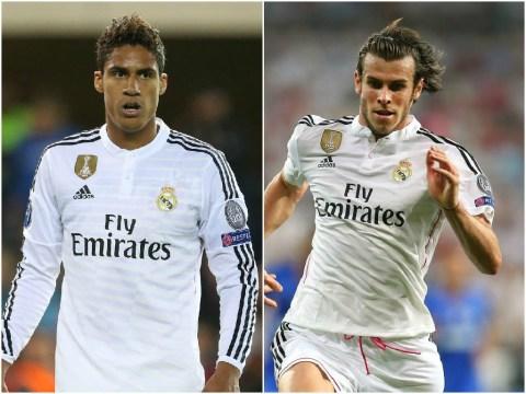 Manchester United 'make £109million transfer bid for Real Madrid's Gareth Bale and Raphael Varane'