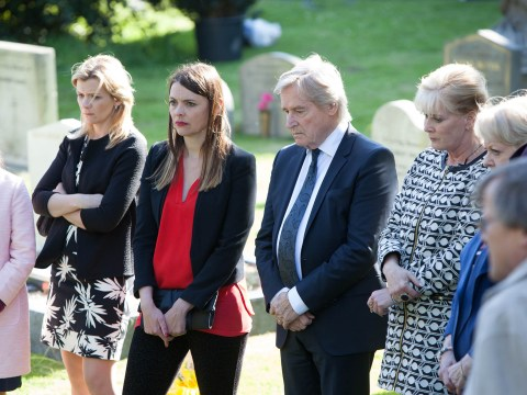 10 soap spoiler pictures: Coronation Street Deirdre Barlow funeral drama and EastEnders Lucy Beale murder arrest
