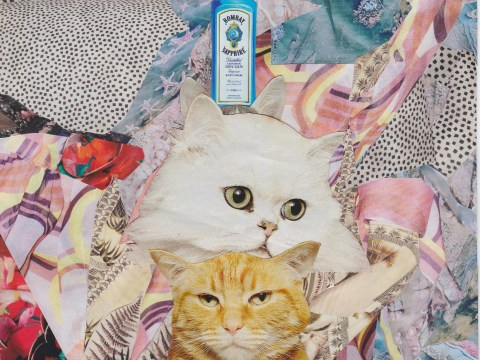 These crazy sexy cool collages are what your walls are crying out for