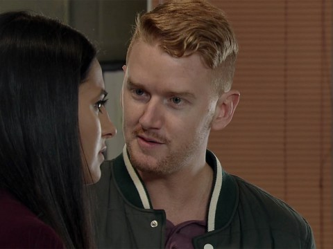 Coronation Street's Mikey North roams the streets in his Y-fronts while sleepwalking