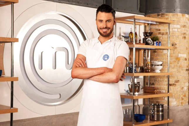 Programme Name: Celebrity Masterchef - TX: n/a - Episode: n/a (No. Generic Singles) - Picture Shows:  Rylan Clark - (C) Shine TV - Photographer: Production