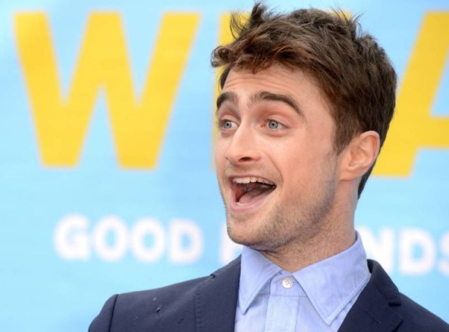 Mandatory Credit: Photo by Jonathan Hordle/REX Shutterstock (4076150bo) Daniel Radcliffe 'What If' Film Premiere, London, Britain - 12 Aug 2014