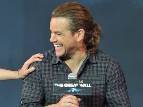 Matt Damon has a ponytail now and we're not sure how to feel about it