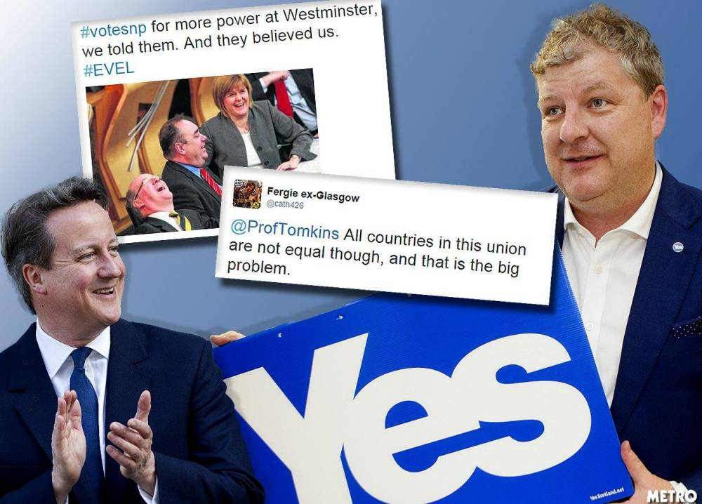 EVEL: English votes for English laws is causing a stink in Scotland (and on Twitter)