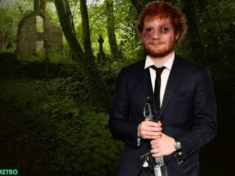 Ed Sheeran has landed a 'gruesome' TV role but is he set to leave music behind?