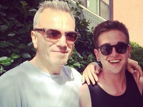 Daniel Day Lewis' son Gabriel looks as flawless as his father at Paris fashion show