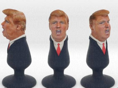 Man creates Donald Trump butt plug after offensive comments about Mexican immigrants