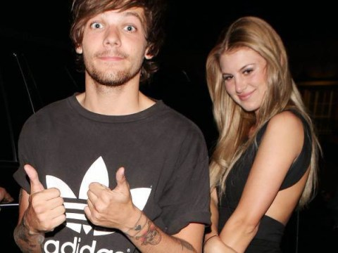 Baby bump sporting Briana Jungwirth spotted at One Direction London show