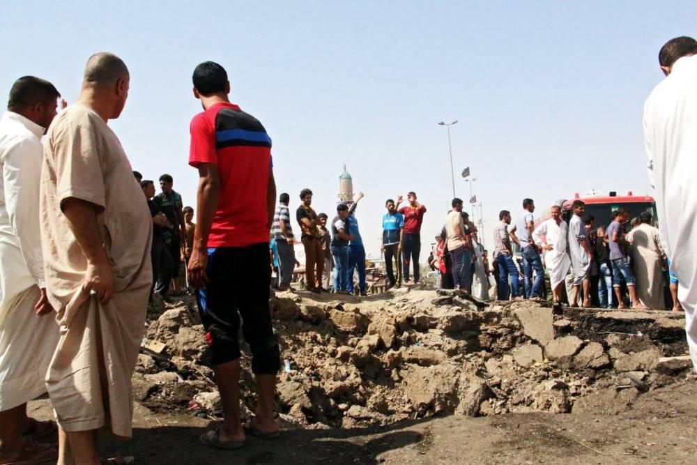 Isis truck bomb kills 115 people in Iraq market during Eid celebrations