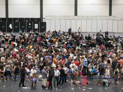 Thousands of girls attend open auditions for new Harry Potter spin-off Fantastic Beasts