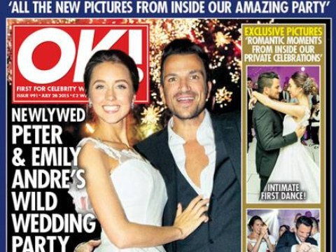 Emily MacDonagh reveals her fairytale dress in pictures of her wedding to Peter Andre
