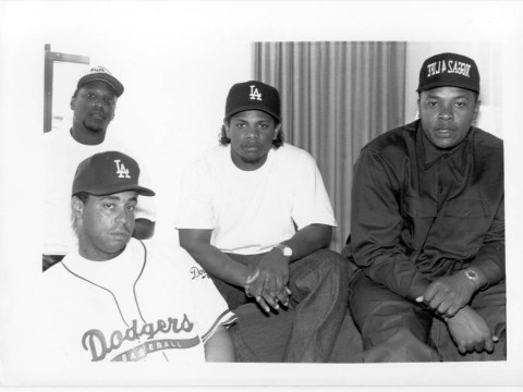 N.W.A are planning a European reunion tour with Eminem