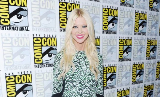 Mandatory Credit: Photo by Startraks Photo/REX Shutterstock (4900746i).. Tara Reid.. 'Sharknado 3: Oh Hell No!' film photocall at Comic-Con, San Diego, America - 10 Jul 2015.. 2015 Comic-Con Day 2 - Sharknado 3: Oh Hell No!..
