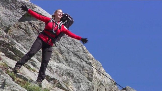 "27 July 2015 - Los Angeles - USA  **** STRICTLY NOT AVAILABLE FOR USA ***  Kate Winslet recreates iconic Titanic scene as she guest stars on Running with Bear Grylls. The Oscar winning actress reenacted her 'flying' scene with Leonardo DiCaprio in Titanic - only this time she was abseiling down the side of a mountain in Snowdonia, instead of standing at the bow of a ship. Grylls, who was standing at the bottom of the cliff, asked Winslet into quote a couple of her lines from the film, and she happily obliged. She let go of the rope, opened her arms wide and shouted:  Jack, I;m flying!"" Also on the show Winslet also insisted on washing her sports bra in a stream after complaining she had ;fish guys on my nipple' after Grylls jokingly threw a small trout down her top. She also started a fire by using one of her tampson and tried eating cooked worms but said they tasted awful. Winslet also pulled a prank on Grylls in the middle of the night as she pretended to have food poisoning from eating the worms.   XPOSURE PHOTOS DOES NOT CLAIM ANY COPYRIGHT OR LICENSE IN THE ATTACHED MATERIAL. ANY DOWNLOADING FEES CHARGED BY XPOSURE ARE FOR XPOSURE'S SERVICES ONLY, AND DO NOT, NOR ARE THEY INTENDED TO, CONVEY TO THE USER ANY COPYRIGHT OR LICENSE IN THE MATERIAL. BY PUBLISHING THIS MATERIAL , THE USER EXPRESSLY AGREES TO INDEMNIFY AND TO HOLD XPOSURE HARMLESS FROM ANY CLAIMS, DEMANDS, OR CAUSES OF ACTION ARISING OUT OF OR CONNECTED IN ANY WAY WITH USER'S PUBLICATION OF THE MATERIAL.    BYLINE MUST READ : NBC/XPOSUREPHOTOS.COM    PLEASE CREDIT AS PER BYLINE *UK CLIENTS MUST CALL PRIOR TO TV OR ONLINE USAGE PLEASE TELEPHONE  44 208 344 2007"