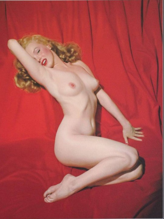 Marilyn Monroe's nude photos are going on tour (Picture: Limited Runs)