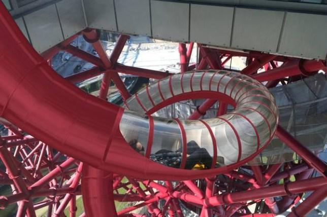 ArcelorMittal sculpture is being turned into the worlds longest slide  Orbit5.jpg  LLDC
