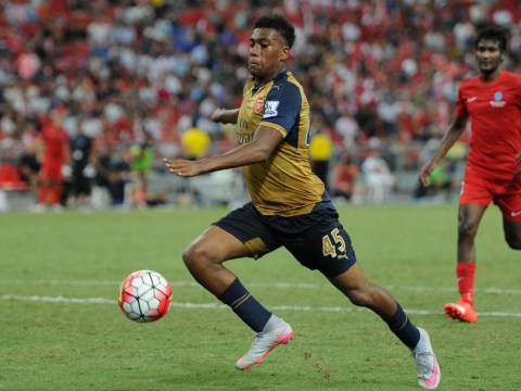 Alex Iwobi enjoys a dream afternoon as he scores for Arsenal v Lyon in Emirates Cup clash