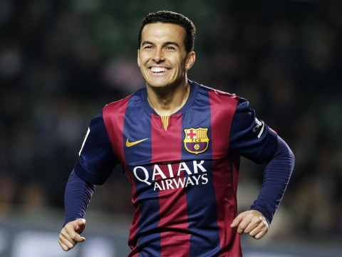 What would Pedro give Manchester United if he completes transfer from Barcelona?