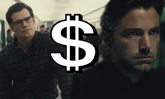 No wonder Bruce Wayne's so mad... he's paying Clark Kent's wages (Picture: Warner Bros.)
