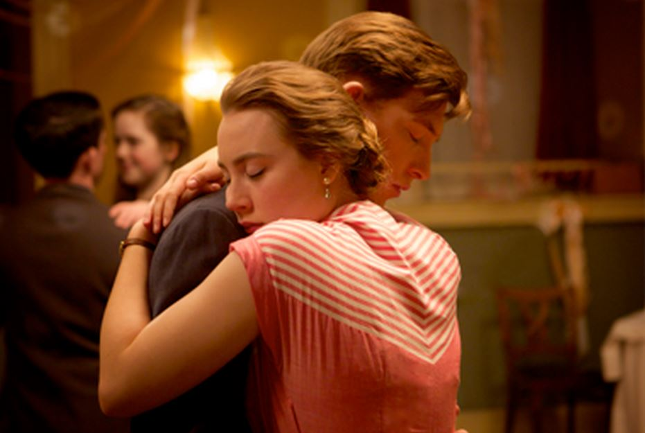 Saoirse Ronan and Domhnall Gleeson in Brooklyn (Picture: Lionsgate)