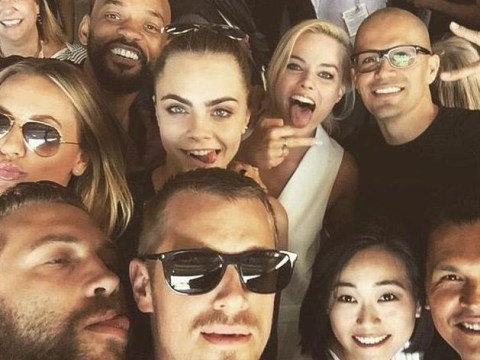 Suicide Squad cast nail Comic-Con with epic selfie as they unveil first trailer