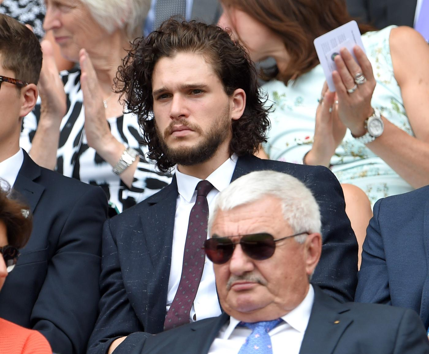 Kit Harington at Wimbledon 2015