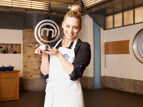 Kimberly Wyatt is named champion of Celebrity Masterchef 2015!