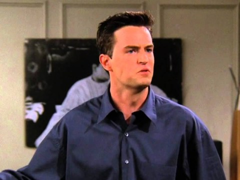 Matthew Perry doesn't look like Chandler Bing anymore