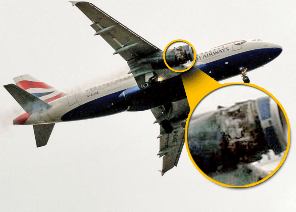 BA plane makes emergency landing after engineers carry out work on wrong plane