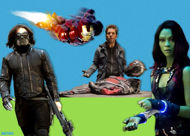 There's a Star Wars reference in Ant-Man you need to look out for Gamora, Iron Man, the Winter Soldier, and Ant-Man