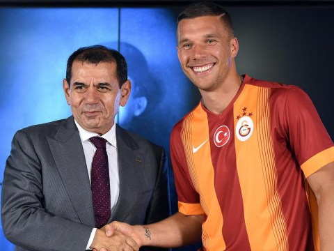 Lukas Podolski completes transfer from Arsenal to Galatasaray