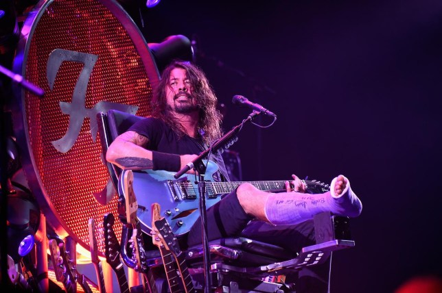 Foo Fighters 20th Anniversary Blowout Kevin Mazur/WireImage