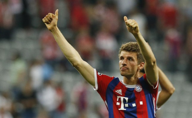 Thomas Muller is open to joining Manchester United (Picture:Getty)