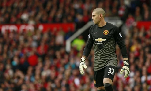 Football: Manchester United's Victor Valdes Jason Cairnduff/Reuters