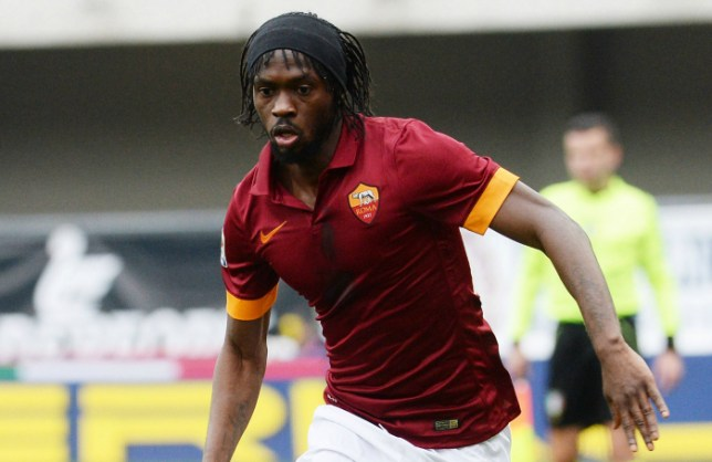 VERONA, ITALY - FEBRUARY 22:  Gervinho of AS Roma runs with the ball  during the Serie A match between Hellas Verona FC and AS Roma at Stadio Marc'Antonio Bentegodi on February 22, 2015 in Verona, Italy.  (Photo by Dino Panato/Getty Images)