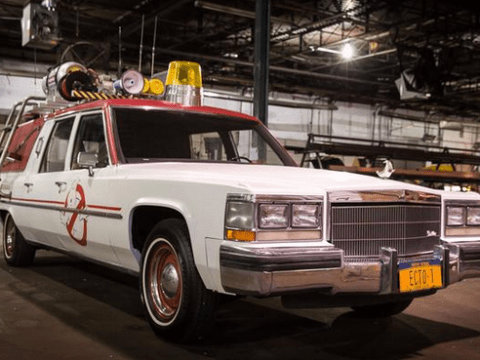 'What they gonna drive?' Ghostbusters fans are going to be pretty happy with the remake's new Ghostmobile