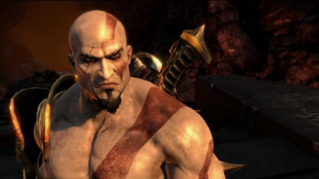 God Of War III Remastered (PS4) - Kratos is such a grump