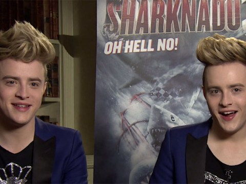 EXCLUSIVE: Jedward tackle our tricky shark trivia quiz after making their mark on Sharknado 3