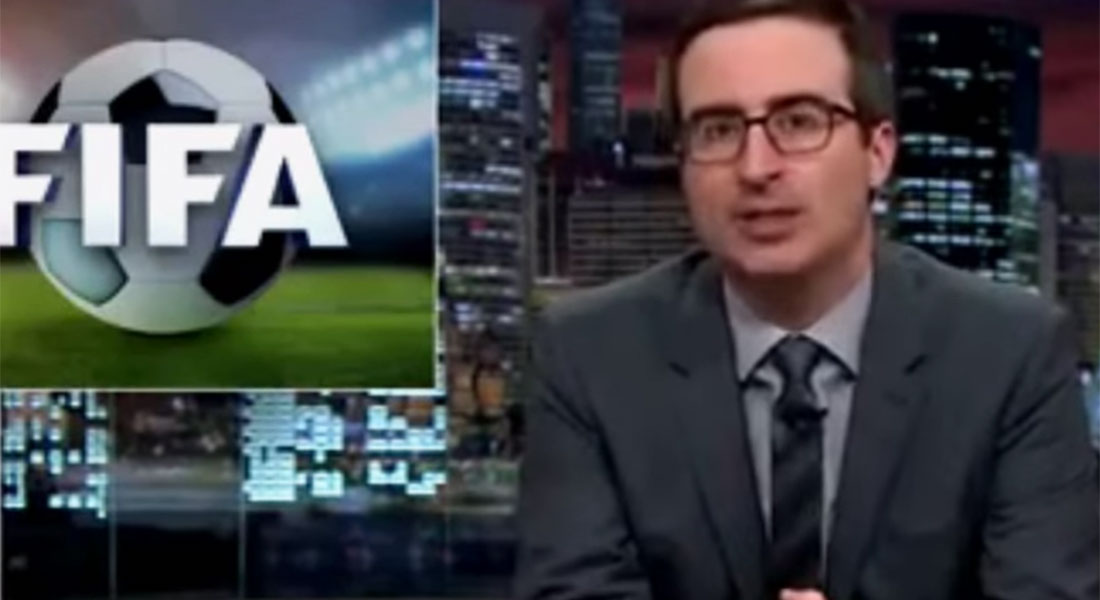 John Oliver compares Fifa to 'an international crime syndicate' in his latest TV rant